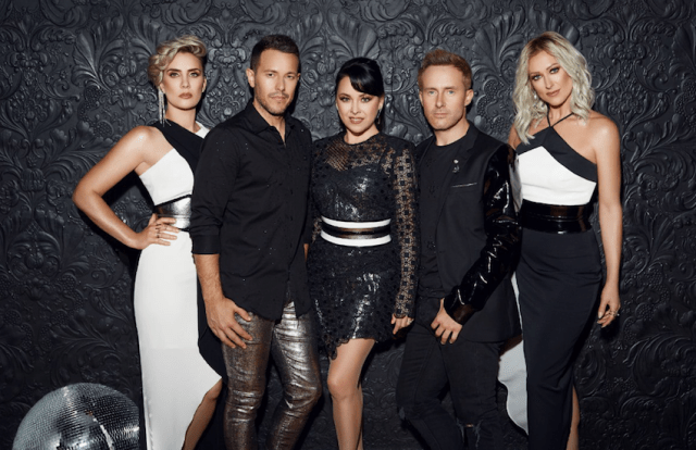 Claire, Lee, Lisa, H and Faye are Steps