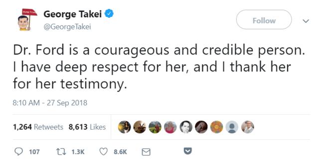 George Takei tweet
