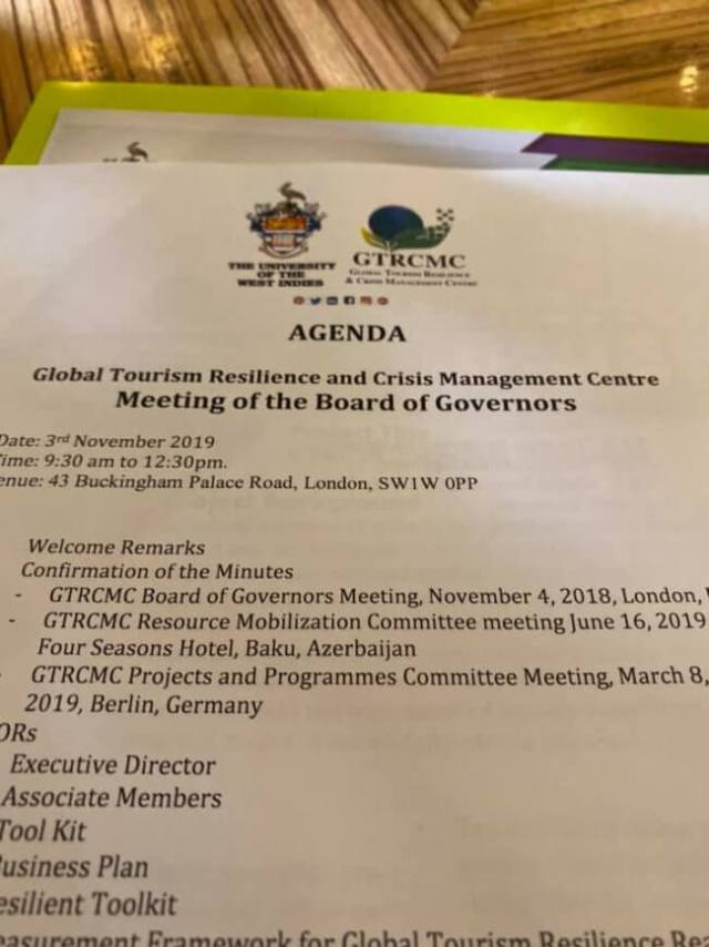 Global Tourism Resilience revealed for GTRCMC