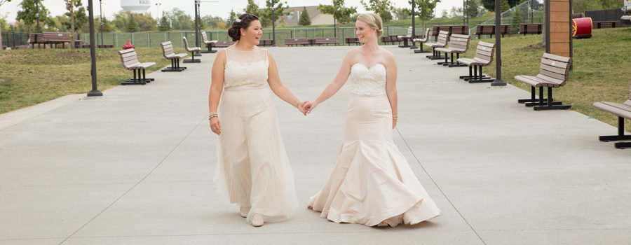 Two Brides One Love Gay Weddings Amp Marriage Magazine