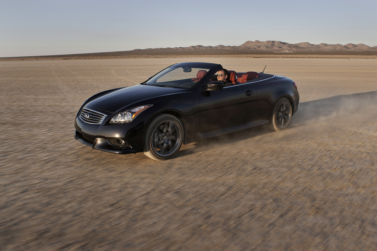 convertible first news infinity infiniti quarters trend rear three motor test