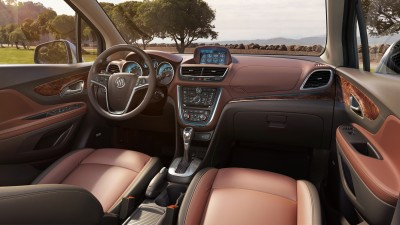 2013 Buick Encore with Saddle interior
