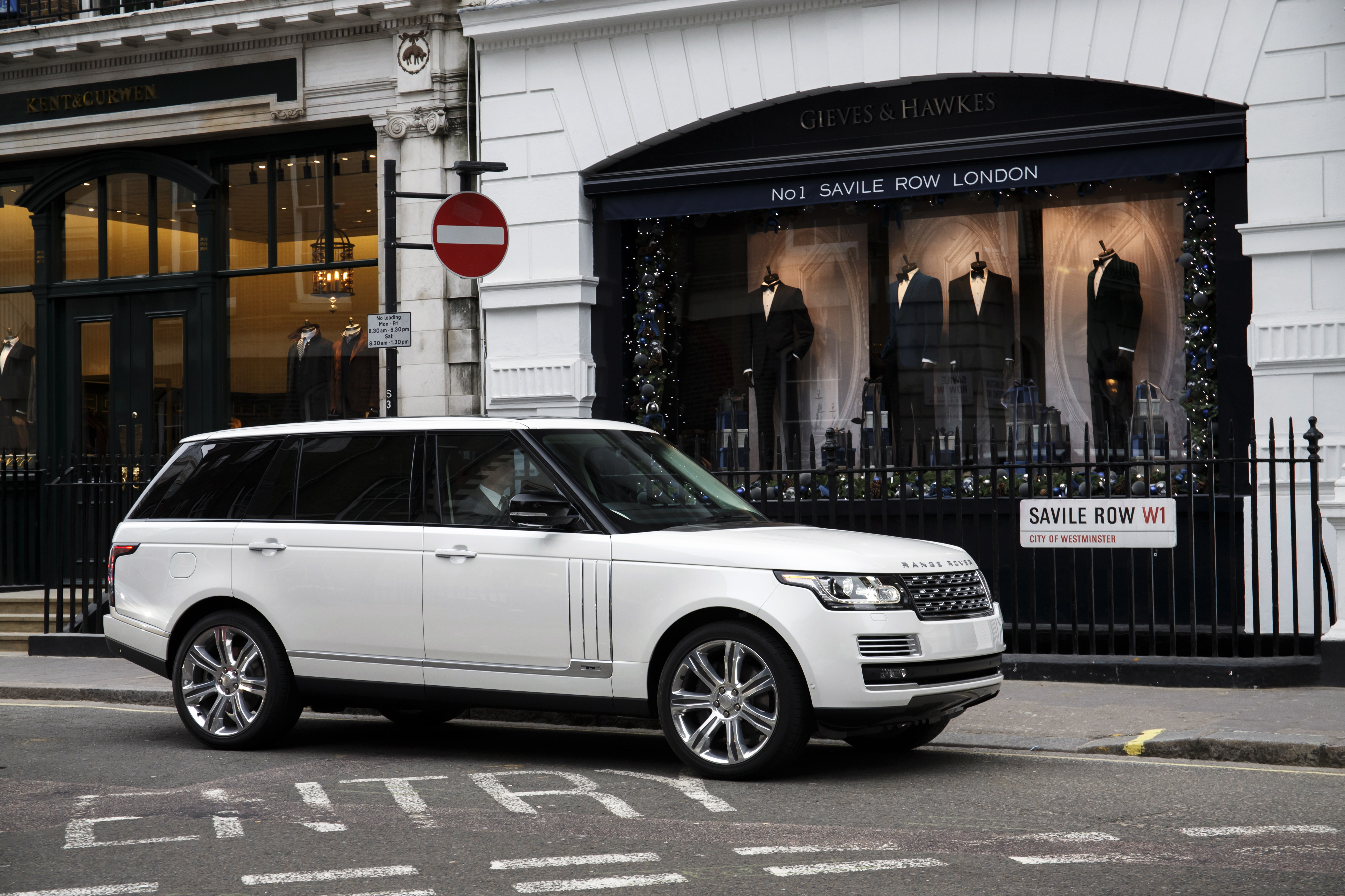 Land Rover Range Rover LWB When You d Rather Be Royal
