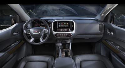 2015 GMC Canyon Interior Detail