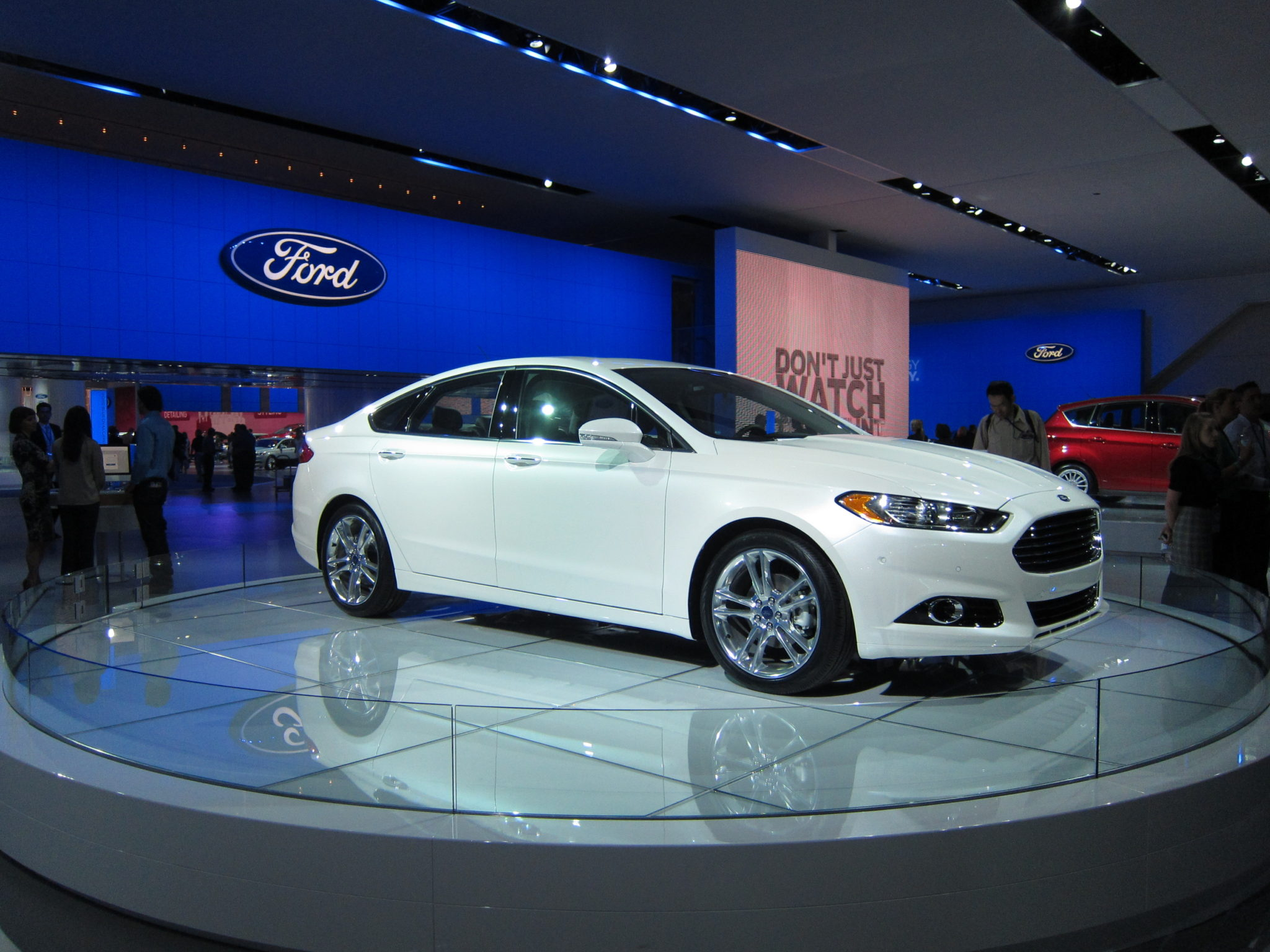 Ford Fusion, 2012 Detroit Auto Show