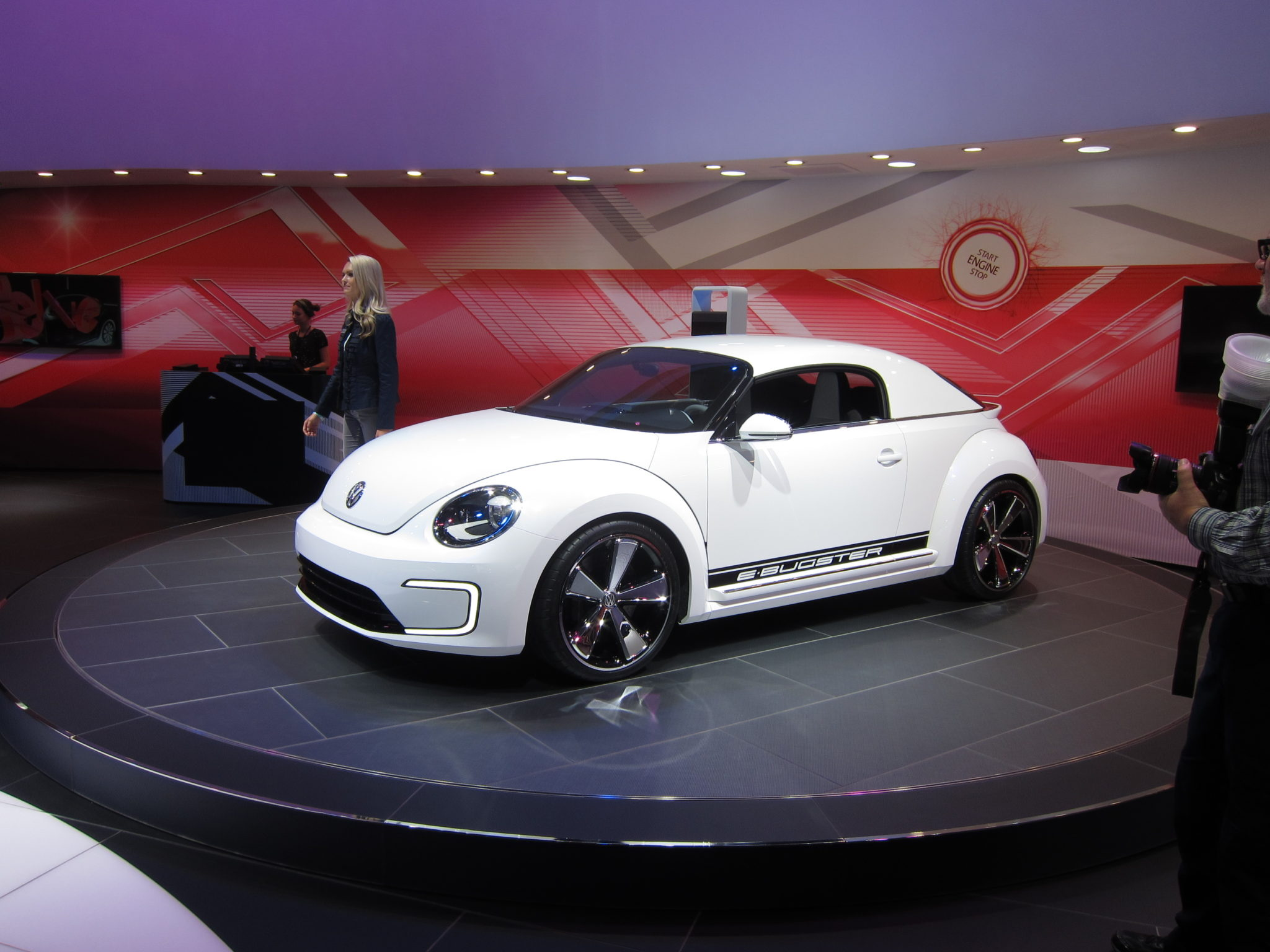 Volkswagen E-Bugster concept, 2012 Detroit Auto Show