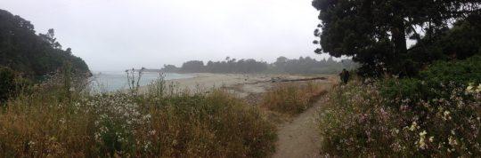 Big River Beach, Mendocino, California