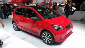 Seat Mii (It doesn't sell in my country. Such a pity since I like small ones.)