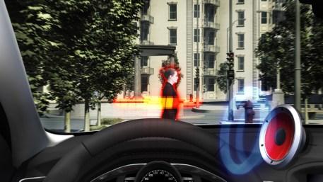 Volvo's Pedestrian Detection System
