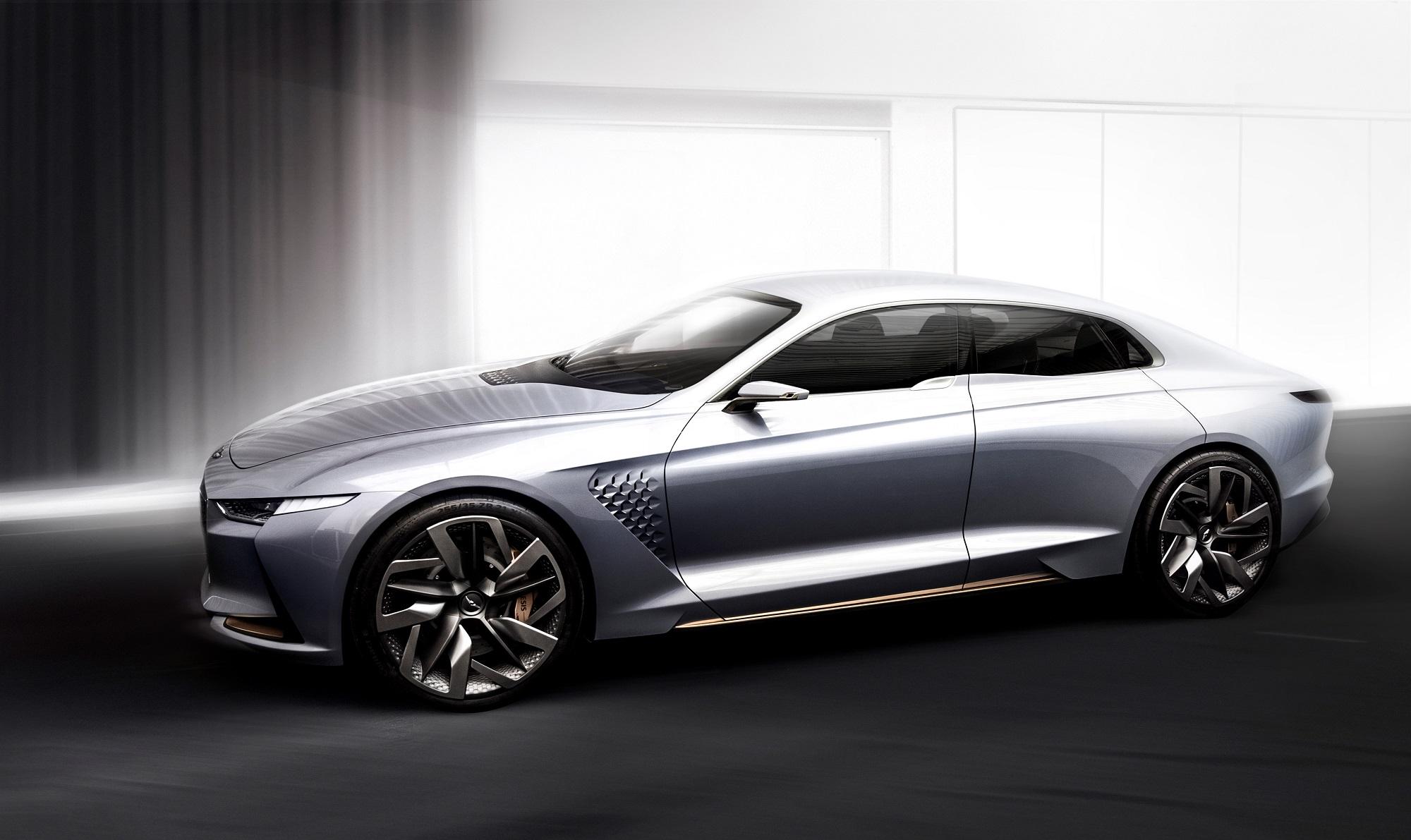Hyundai Genesis Hybrid Sport Sedan Concept, 2016 New York International Auto Show