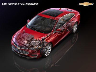 2016 Chevrolet Malibu Hybrid