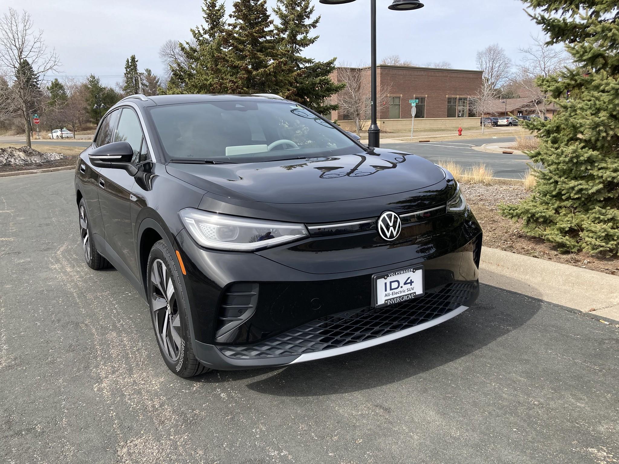 2021 Volkswagen ID.4 1st Edition Black