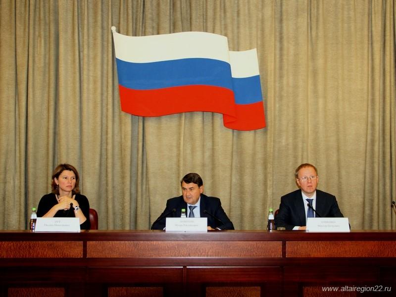 Губернатор Алтайского края Виктор Томенко участвовал в заседании рабочей группы по реализации государственной аграрной политики