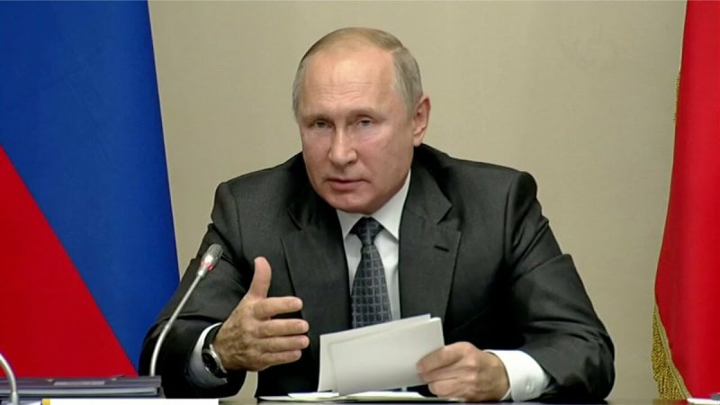 Президент России обратился к гражданам страны в связи с ситуацией по коронавирусу