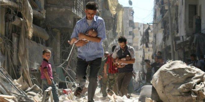 خمسة شهداء مدنيين بقصف جوي روسي على بلدة البارة بإدلب