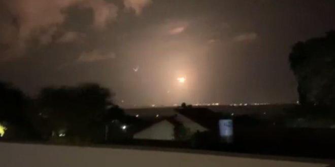 الاحتلال: اطلاق ثلاثة صواريخ من قطاع غزة على المستوطنات