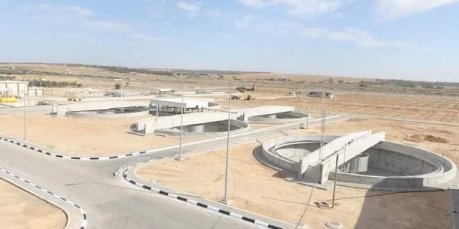 بتمويل الماني:أكبر مشروع معالجة لمياه الصرف الصحي في فلسطين..