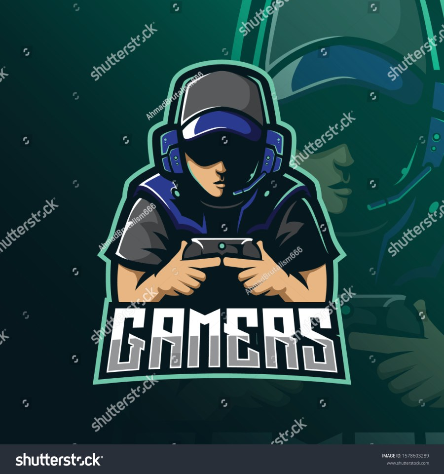 stock-vector-gamers-mascot-logo-design-vector-with-modern-illustration-concept-style-for-badge-emblem-and-1578603289