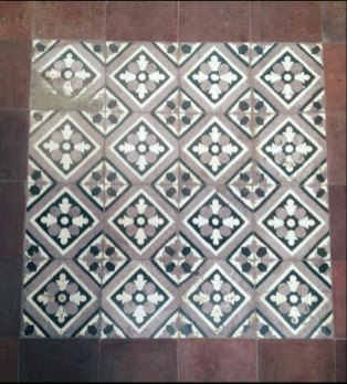 Tiles inside a square