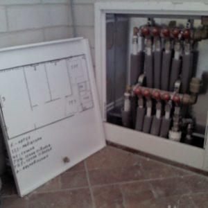 Колекторна розводка систем опалення м.Тернопіль