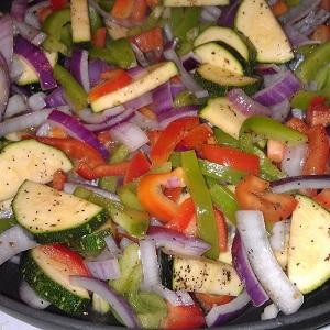 Gazebo Room Veggie Stir Fry