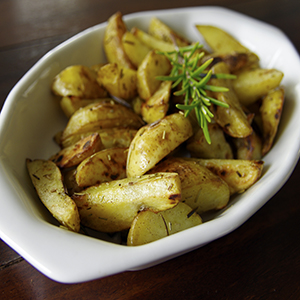 Gazebo Room Greek Potatoes