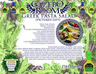 Greek Pasta Salad Original Restaurant Recipes Printable