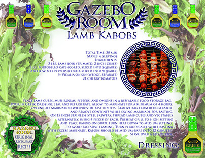Lamb Kabobs Original Restaurant Recipes Printable