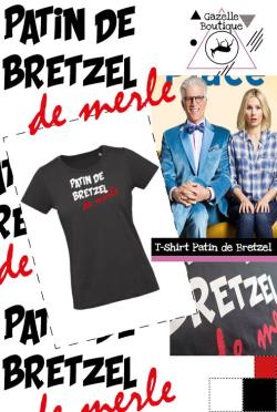 T-shirt Patin de Bretzel