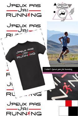 T-shirt – J'peux pas j'ai Running