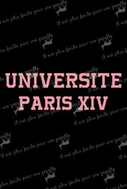 T-shirt UNIVERSITE PARIS XIV
