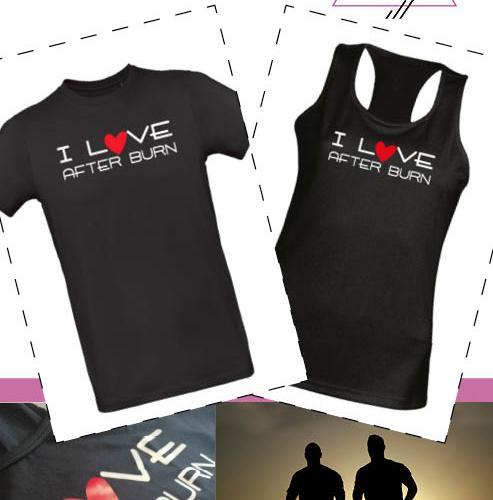 T-shirt I Love After Burn
