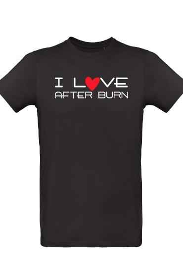 T-shirt-after-burn