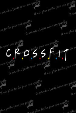 t-shirt crossfit friends