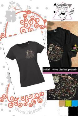T-shirt Vivre l'instant présent