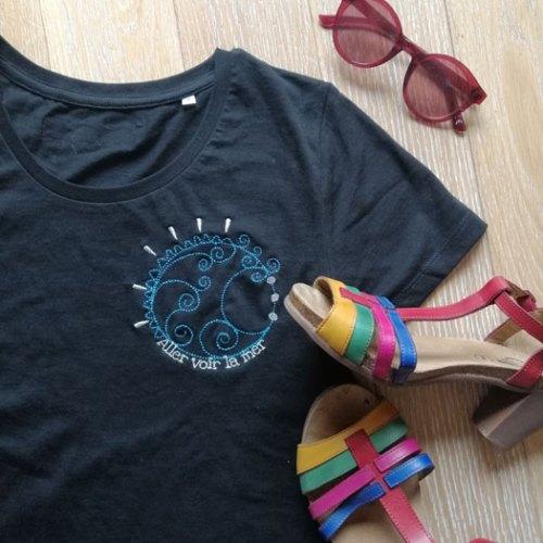 T-shirt «Aller voir la mer»