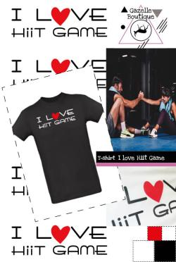 T-shirt Homme – I Love Hiit Game