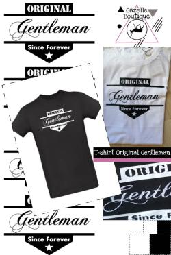 T-shirt Original Gentleman
