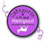 Masques 4-8 ans