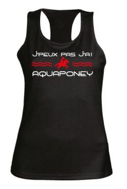 T-shirt J'peux pas j'ai Aquaponey