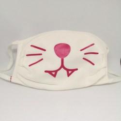 Masque barrière : masque chat-CH11