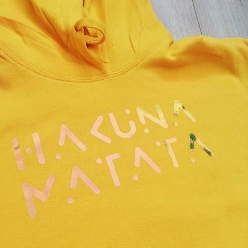 Sweat A capuche «HAKUNA MATATA»