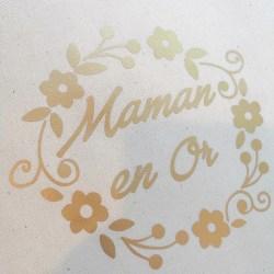 Sac Cadeau-Maman en OR