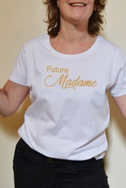 Le T-shirt la Future Mariée