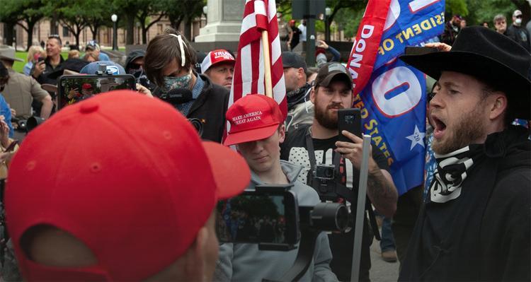Американцы вышли на протесты против карантина и за возвращение к нормальной жизни