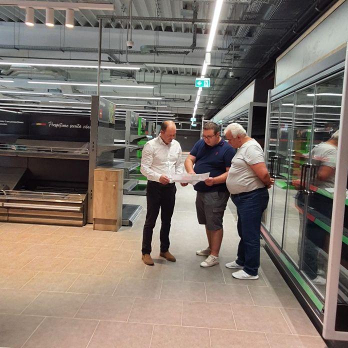 supermarket Herculane. Miclău