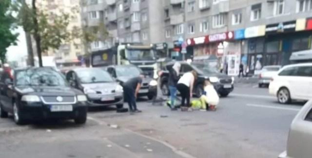 Accident biciclist Cluj