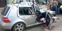 Motorista abandona amigo morto na frente de hospital depois de sofrer acidente no Contorno Leste