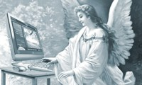 Jesus e o diabo no computador