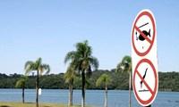 Cavas e parques são proibidos para banhos